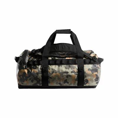 ザ ノースフェイス The North Face ボストンバッグ・ダッフルバッグ Base Camp Duffel - M New Taupe Green Macrofleck Camo Print/TNF Black