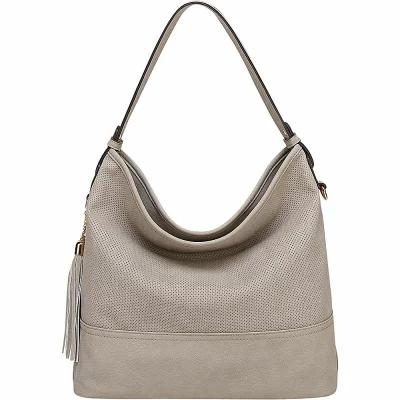 MKFコレクション MKF Collection by Mia K. Farrow ショルダーバッグ Desha Hobo Light Grey