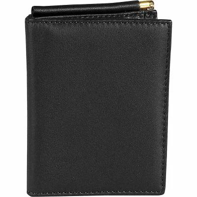 ルイスレザー Royce Leather マネークリップ Money Clip Wallet Black