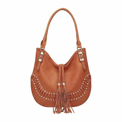 MKFコレクション MKF Collection by Mia K. Farrow ショルダーバッグ Iva Hobo Brown