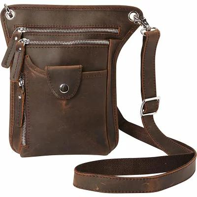 ヴァガボンド Vagabond Traveler ショルダーバッグ 10' Cross-Body Shoulder Bag Dark Brown