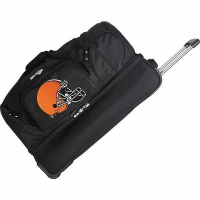 モジョ Mojo Licensing スーツケース・キャリーバッグ NFL 27' Drop Bottom Wheeled Duffel Cleveland Browns