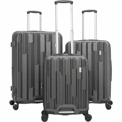 ガッビアーノ Gabbiano スーツケース・キャリーバッグ Avila 3 Piece Expandable Hardside Spinner Luggage Set Dark Grey