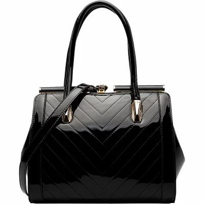 MKFコレクション MKF Collection by Mia K. Farrow ハンドバッグ Rosalinda Satchel Black
