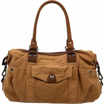 TSD ハンドバッグ Bay Arm Satchel Camel