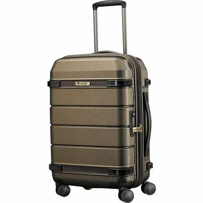 ハートマン Hartmann Luggage スーツケース・キャリーバッグ Century 22' Expandable Hardside Carry-On Spinner Luggage Bronze Monogram/Espresso