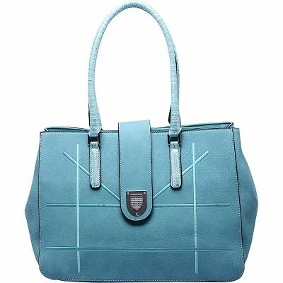 MKFコレクション MKF Collection by Mia K. Farrow ハンドバッグ Caldera Satchel Light Blue