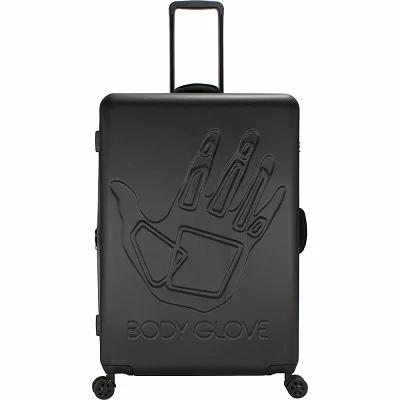 ボディーグローヴ Body Glove スーツケース・キャリーバッグ Redondo 29' Hardside Checked Spinner Luggage Black