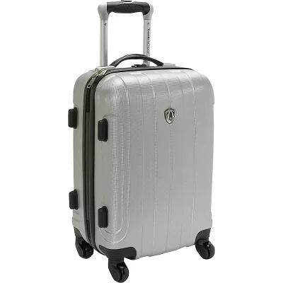 トラベラーズチョイス Traveler's Choice スーツケース・キャリーバッグ Cambridge Hardsided Spinner Luggage - 20' Silver Grey