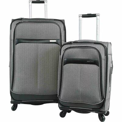 ペリー エリス Perry Ellis スーツケース・キャリーバッグ Marquis 2Pc Spinner Luggage Set Herringbone