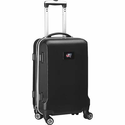 デンコスポーツラッゲージ Denco Sports Luggage スーツケース・キャリーバッグ NHL 20' Domestic Carry-On Black Columbus Blue Jackets