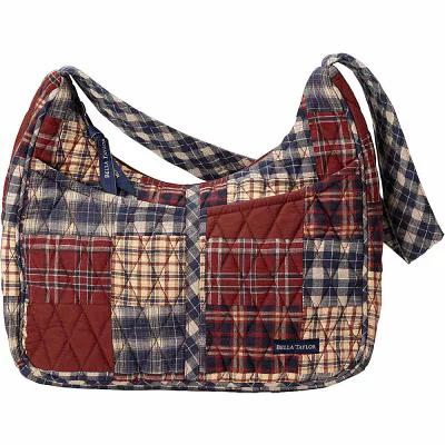 ベラテイラー Bella Taylor ショルダーバッグ Blakely Shoulder Bag National Quilt Museum Finley Red