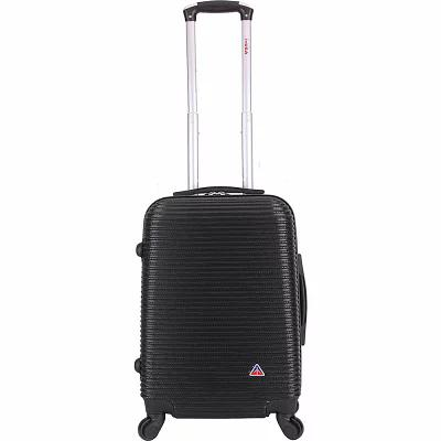 インユーエスエー inUSA Luggage スーツケース・キャリーバッグ Royal 20' Lightweight Hardside Carry-On Spinner Luggage Black