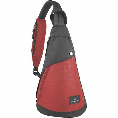 ビクトリノックス Victorinox ショルダーバッグ Altmont 3.0 Dual-Compartment Monosling Red/Black