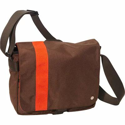 トーケン TOKEN ショルダーバッグ Astor Shoulder Bag (M) W Dark Brown/Orange