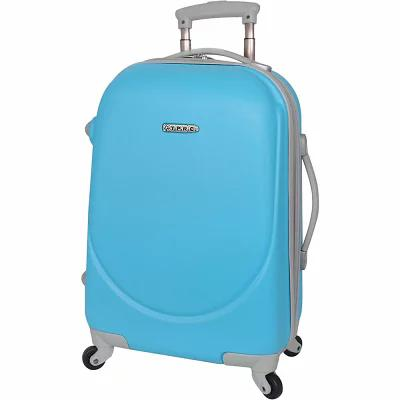 T.P.R.C. スーツケース・キャリーバッグ Barnet 20' Round Shell Expandable Spinner Carry-On Neon Blue