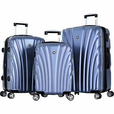 オリンピア Olympia USA スーツケース・キャリーバッグ Vortex Hardside Spinner Luggage Set Icy Blue