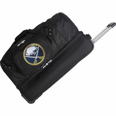 デンコスポーツラッゲージ Denco Sports Luggage スーツケース・キャリーバッグ NHL 27' Drop Bottom Wheeled Duffel Bag Buffalo Sabres