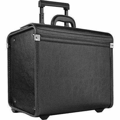 ソロ SOLO スーツケース・キャリーバッグ Classic Rolling Catalog Case, Black with dual combination locks Black