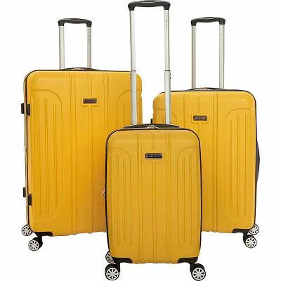 ガッビアーノ Gabbiano スーツケース・キャリーバッグ Viva 3 Piece Expandable Hardside Spinner Luggage Set Yellow