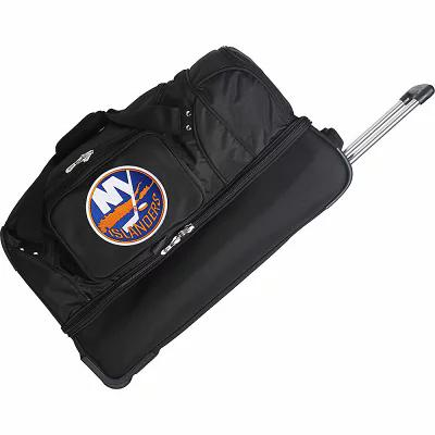 デンコスポーツラッゲージ Denco Sports Luggage スーツケース・キャリーバッグ NHL 27' Drop Bottom Wheeled Duffel Bag New York Islanders