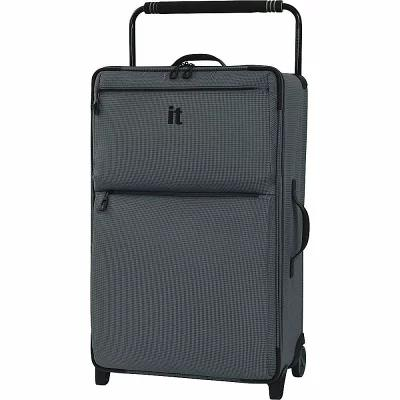 アイティ it luggage スーツケース・キャリーバッグ Worlds Lightest Los Angeles 2 Wheel 29.3 inch Upright Charcoal Grey