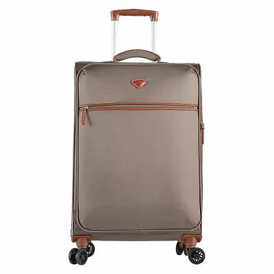 ジャンプ Jump スーツケース・キャリーバッグ Nice Medium Expandable Dual Spinner Suitcase Bark