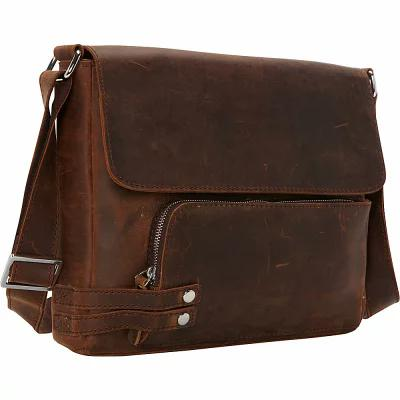 ヴァガボンド Vagabond Traveler メッセンジャーバッグ 13' Medium Leather Messenger Vintage Brown