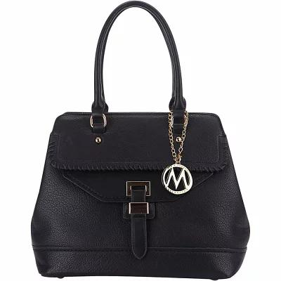 MKFコレクション MKF Collection by Mia K. Farrow ハンドバッグ Stitched Mama Handbag Black