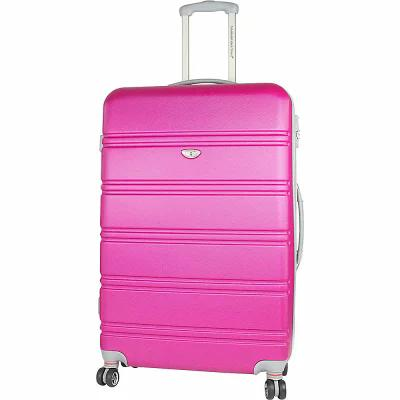 アメリカングリーントラベル American Green Travel スーツケース・キャリーバッグ Plateau 30' Expandable Hardside Checked Spinner Luggage Pink