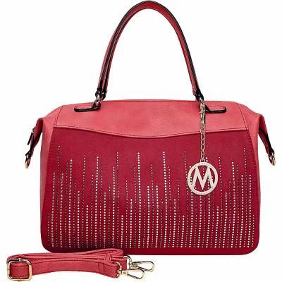 MKFコレクション MKF Collection by Mia K. Farrow ハンドバッグ Zaya Satchel Red