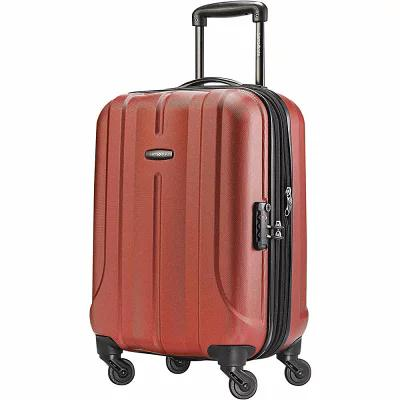 サムソナイト Samsonite スーツケース・キャリーバッグ Fiero 20' Carry-On Hardside Spinner Luggage Burnt Orange