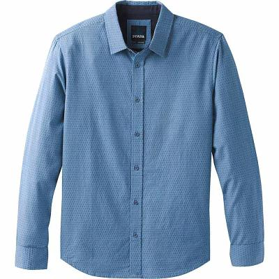 プラーナ PrAna その他トップス Graden Long Sleeve Slim Shirt Steel Blue