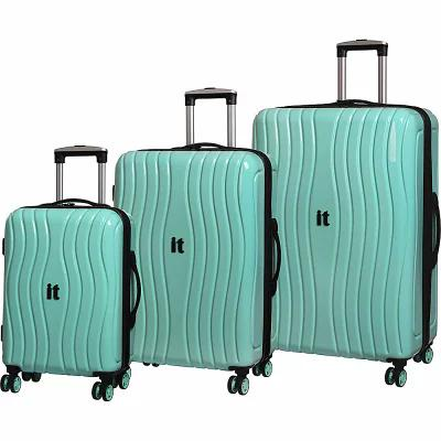 アイティ it luggage スーツケース・キャリーバッグ Doppler Hardside 8 Wheel 3 Piece Set Mint
