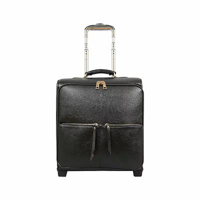 メロウワールド Mellow World スーツケース・キャリーバッグ Dayna 17' Carry-On Rolling Upright Luggage Black