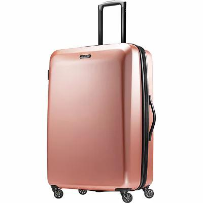 アメリカンツーリスター American Tourister スーツケース・キャリーバッグ Moonlight 28' Expandable Hardside Checked Spinner Luggage Rose Gold