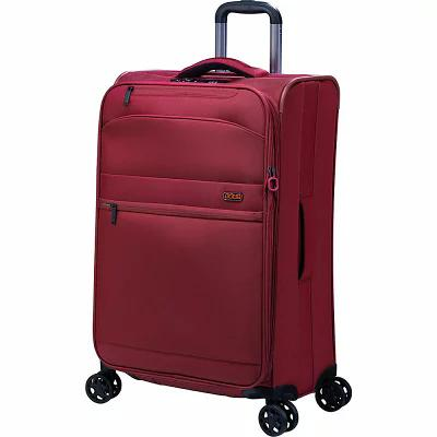 ジャンプ Jump スーツケース・キャリーバッグ Triton 26' Medium Expandable Checked Spinner Luggage Red
