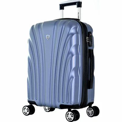 オリンピア Olympia USA スーツケース・キャリーバッグ Vortex 21' Expandable Hardside Carry-on Spinner Luggage Icy Blue