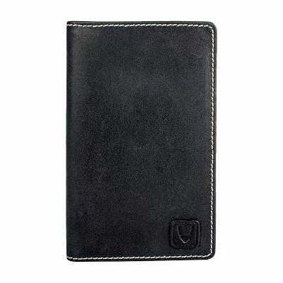 ハイデザイン Hidesign パスポートケース Camel Stitch RFID Blocking Passport Wallet Black