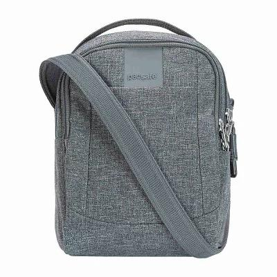 パックセイフ Pacsafe ショルダーバッグ Metrosafe LS100 Anti-Theft Crossbody Dark Tweed