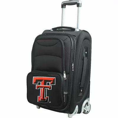 デンコスポーツラッゲージ Denco Sports Luggage スーツケース・キャリーバッグ NCAA 21' Wheeled Upright Texas Tech University Red Raiders