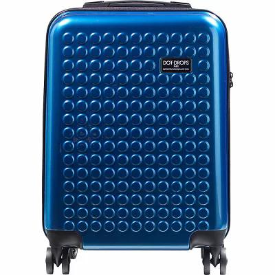 ドット ドロップス Dot Drops スーツケース・キャリーバッグ Chapter 2 20' Hardside Carry-On Spinner Luggage Ice Blue