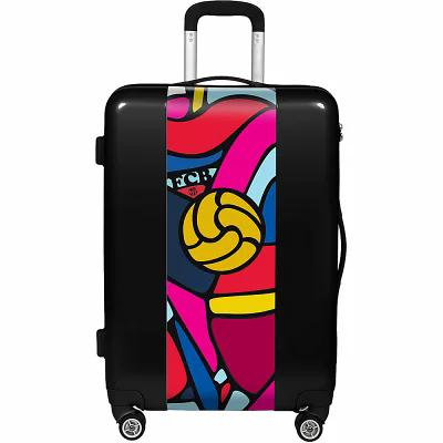 ユーゴバッグス Ugobags スーツケース・キャリーバッグ FCB Retro Balls 22' Hardside Spinner Carry-On Black