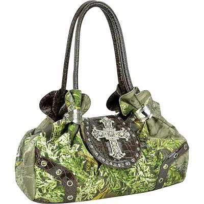 ダーザイン Dasein ショルダーバッグ Studded Realtree Camo Shoulder Bag Max1 Camouflage/Coffee