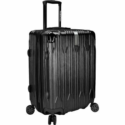 トラベラーズチョイス Traveler's Choice スーツケース・キャリーバッグ Bell Weather 24' Expandable Spinner Checked Luggage Black