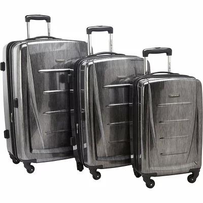 サムソナイト Samsonite スーツケース・キャリーバッグ Winfield 2 Fashion 3-Piece Hardside Luggage Set Charcoal