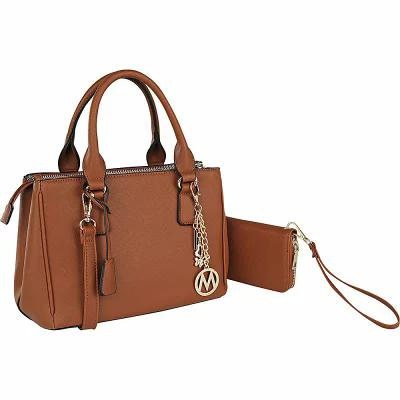 MKFコレクション MKF Collection by Mia K. Farrow ハンドバッグ Adrienne Satchel with Wallet Brown