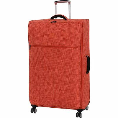 アイティ it luggage スーツケース・キャリーバッグ Stitched Squares 34.4' Lightweight Checked Spinner Luggage Orange