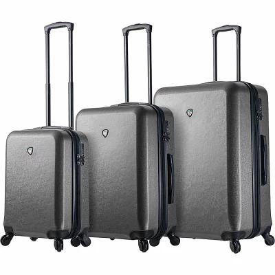 ミアトロイタリー Mia Toro ITALY スーツケース・キャリーバッグ Sacco 3 Piece Expandable Hardside Spinner Luggage Set Silver