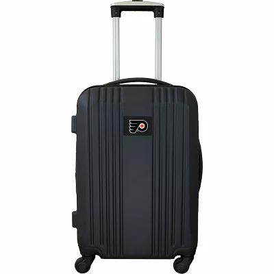 モジョ Mojo Licensing スーツケース・キャリーバッグ NHL 21' Hardside Two-Tone Carry-On Spinner Luggage Philadelphia Flyers